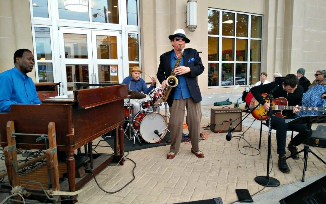 Renowned Saxophonist Ernie Krivda Brings Trademark Jazz to Front Porch Concert Series this Friday, August 24