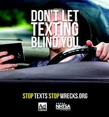 don't let texting blind you