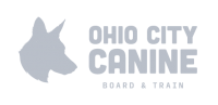 Ohio City Canine - white Logo