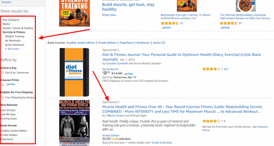 Amazon lead magnet research image