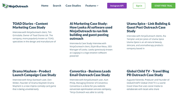 How to use case studies