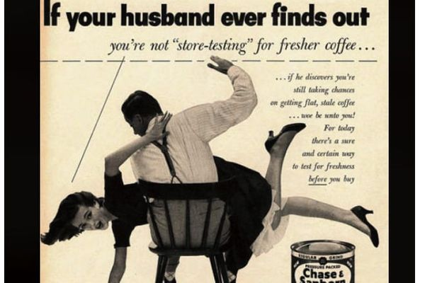 Sexist ads that are no longer in vogue