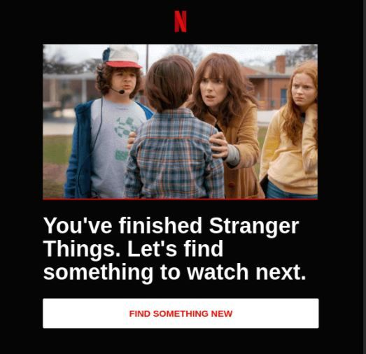 Netflix email marketing engagement strategy