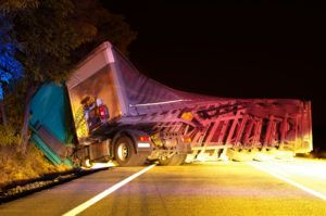 semi-truck accident in Dothan, AL