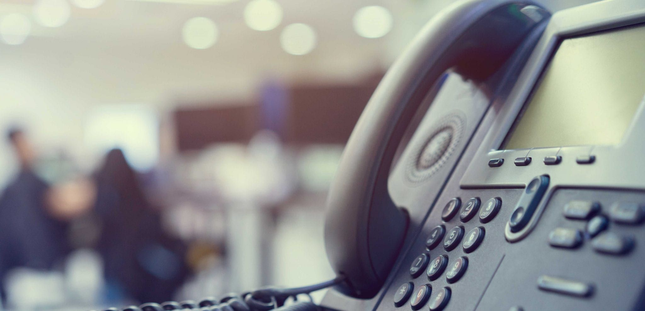 Lack of privacy for phone calls in open concept office space