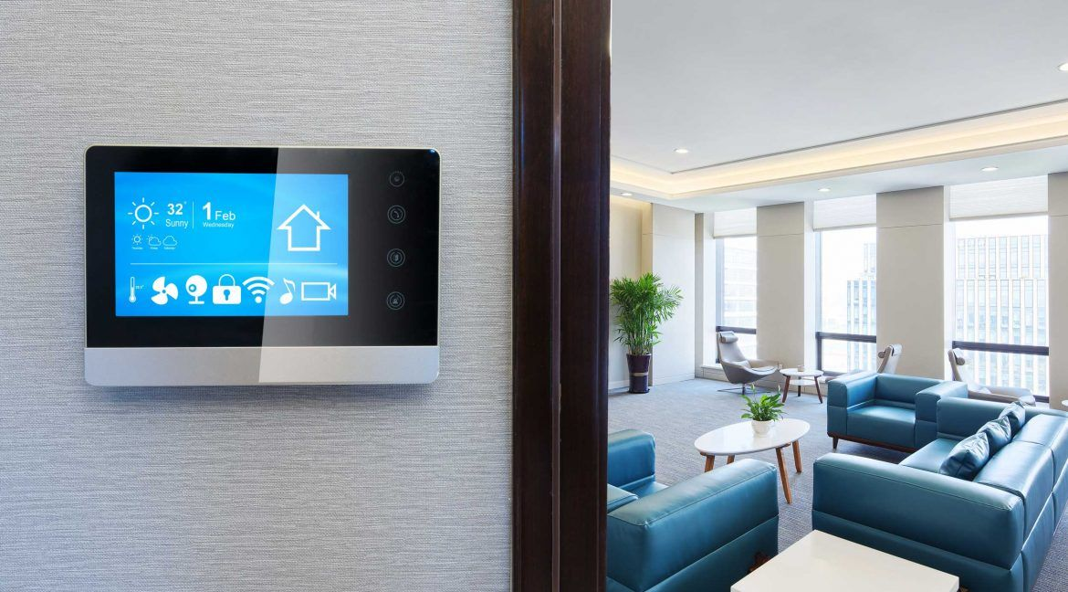 smart thermostat in rental property