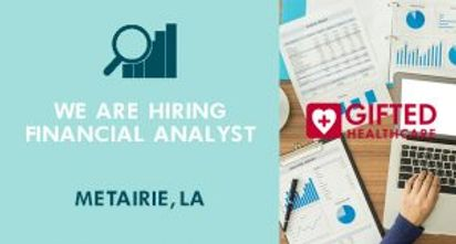 Gifted is hiring for a financial analyst