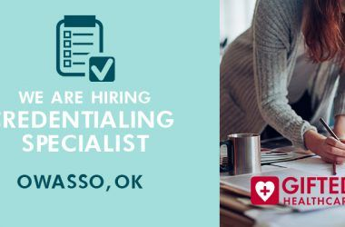 gifted is hiring credentialing specialist