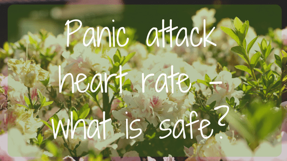 Panic attack heart rate - what is safe?