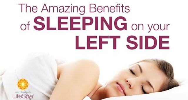Amazing Benefits of Sleeping on Your Left Side | John Douillard's LifeSpa
