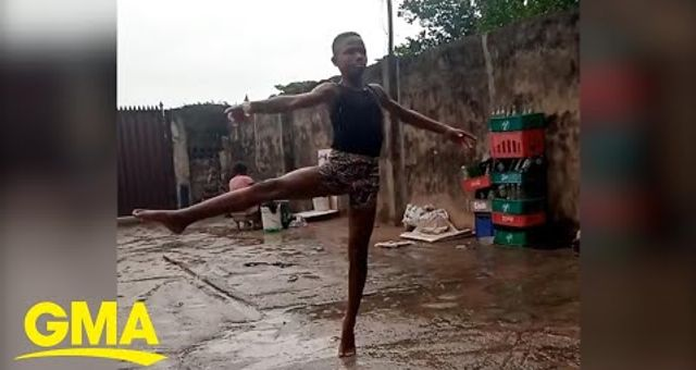 11-year-old Nigerian ballet dancer wows millions with his moves