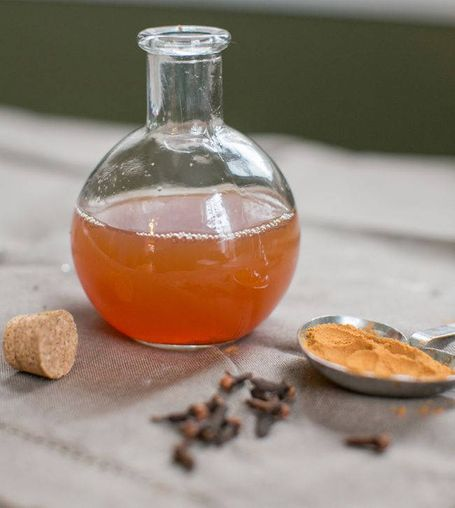 Natural homemade mouthwash 5 Homemade Minty Clove Mouthwash