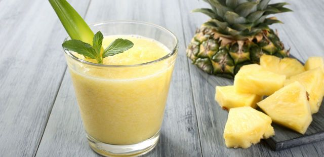 pineapple fruit cough syrup juice
