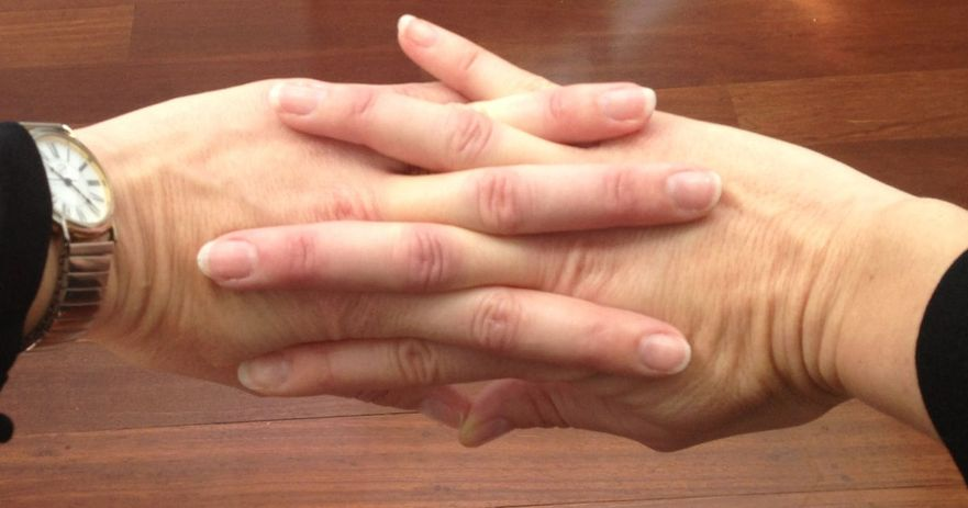 cracking your knuckles