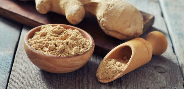 ginger reduces asthma