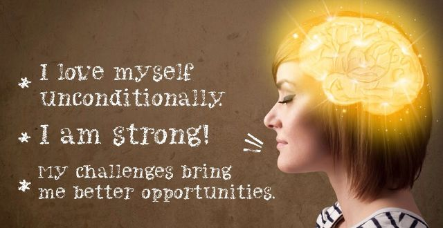 positive affirmations to treat depression and anxiety
