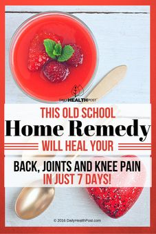 gelatin remedy for joint pain