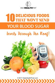 foods manage blood sugar