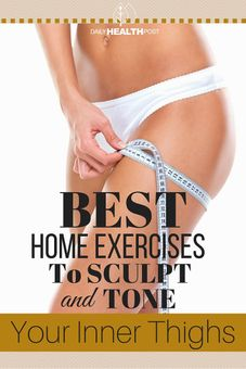best home exercises tone inner thighs