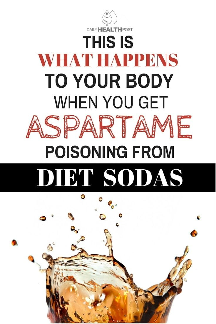 This Is What Happens To Your Body When You Get Aspartame Poisoning From Diet Sodas