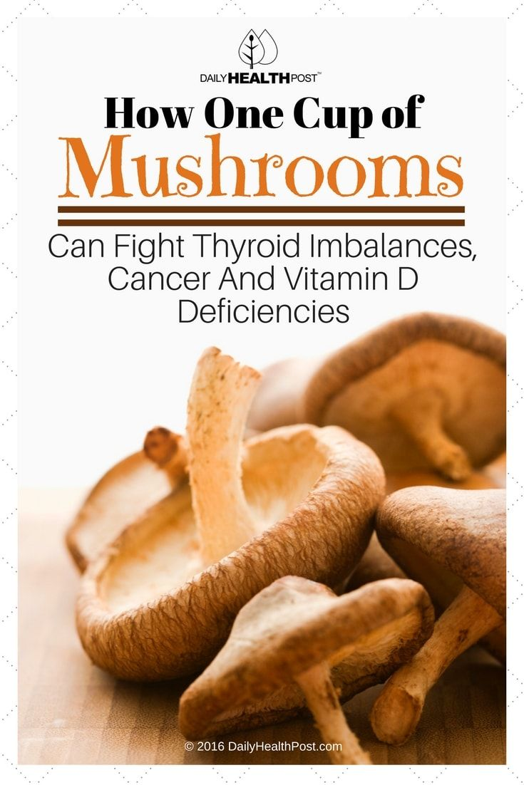 One-Cup-of-Mushrooms-Can-Fight-Thyroid-Imbalances-Cancer