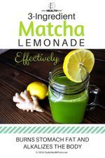 3-ingredient-matcha-lemonade-effectively-burns-stomach-fat