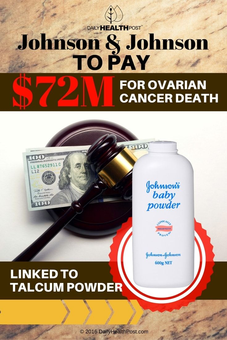 J J To Pay 72m In Case Linking Baby Powder To Cancer