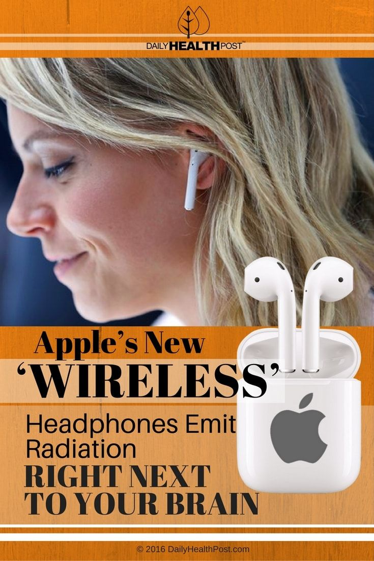Apple S New Wireless Headphone Radiation Concerns Your Brain At Risk