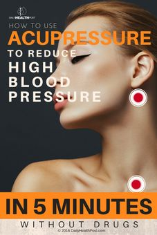 how to use acupressure to reduce high blood pressure