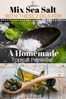 homemade topical painkiller