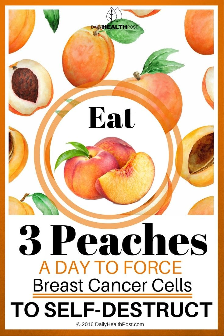 eat-3-peaches-a-day-to-force-breast-cancer-cells-to-self-destruct