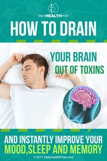 drain your brain of toxins