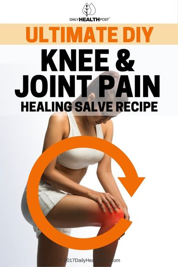 knee and joint pain salve