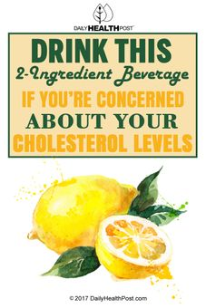 lower cholesterol drink