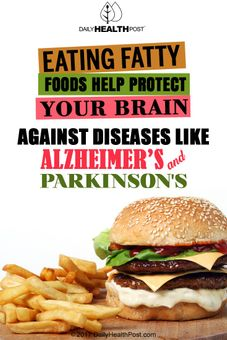 fatty foods protect brain
