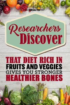 fruits and veggies stronger bones