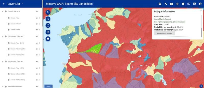 GAIA-Landslide-Map-Interface