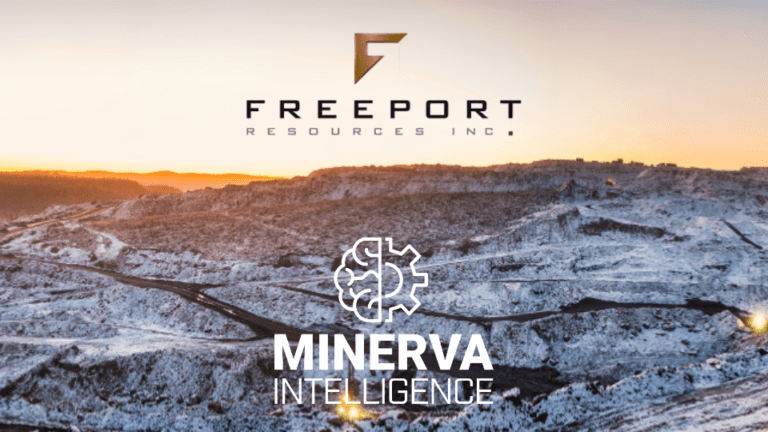 Minerva Announces Contract with Freeport Resources for TERRA Mining AI Suite
