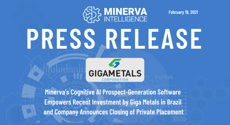 Minerva - Giga Press Release 2021-02-19