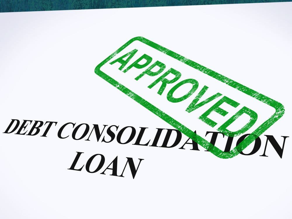 debt consolidation loan approved