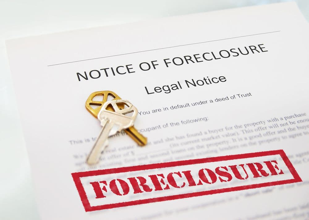 legal notice of foreclosure