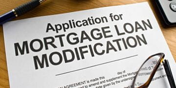 apllication for mortgage loan modification