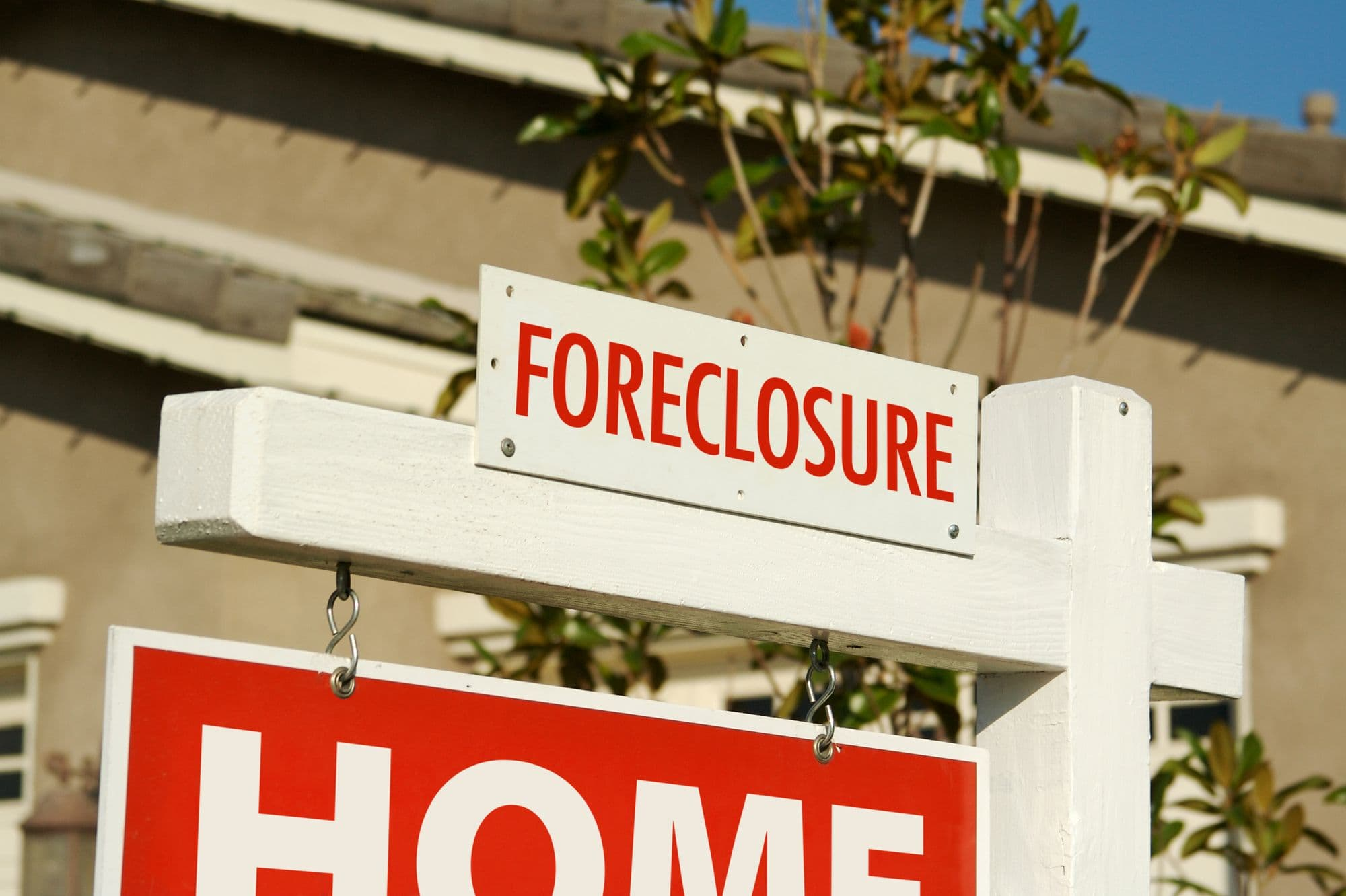 steps to foreclosure