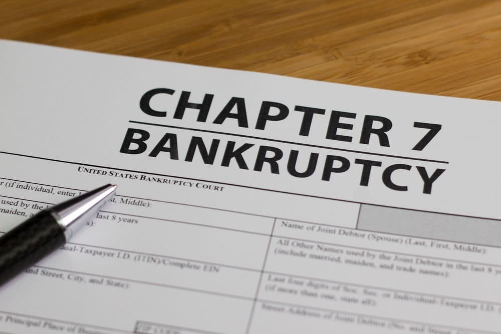 chapter 7 bankruptcy forms
