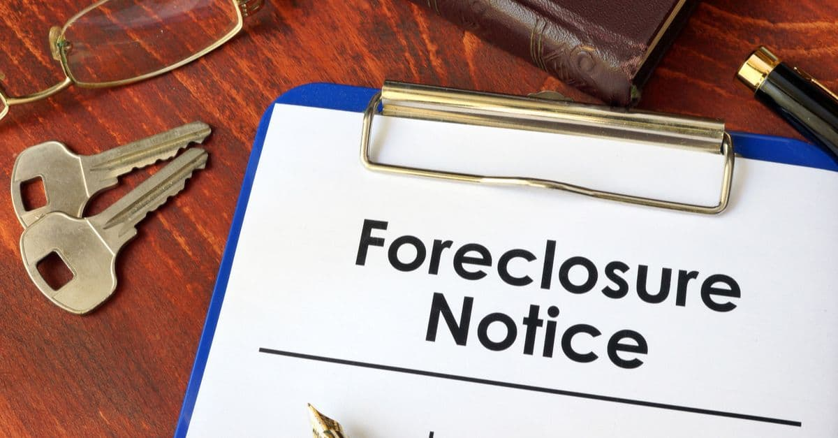 foreclosure notice document