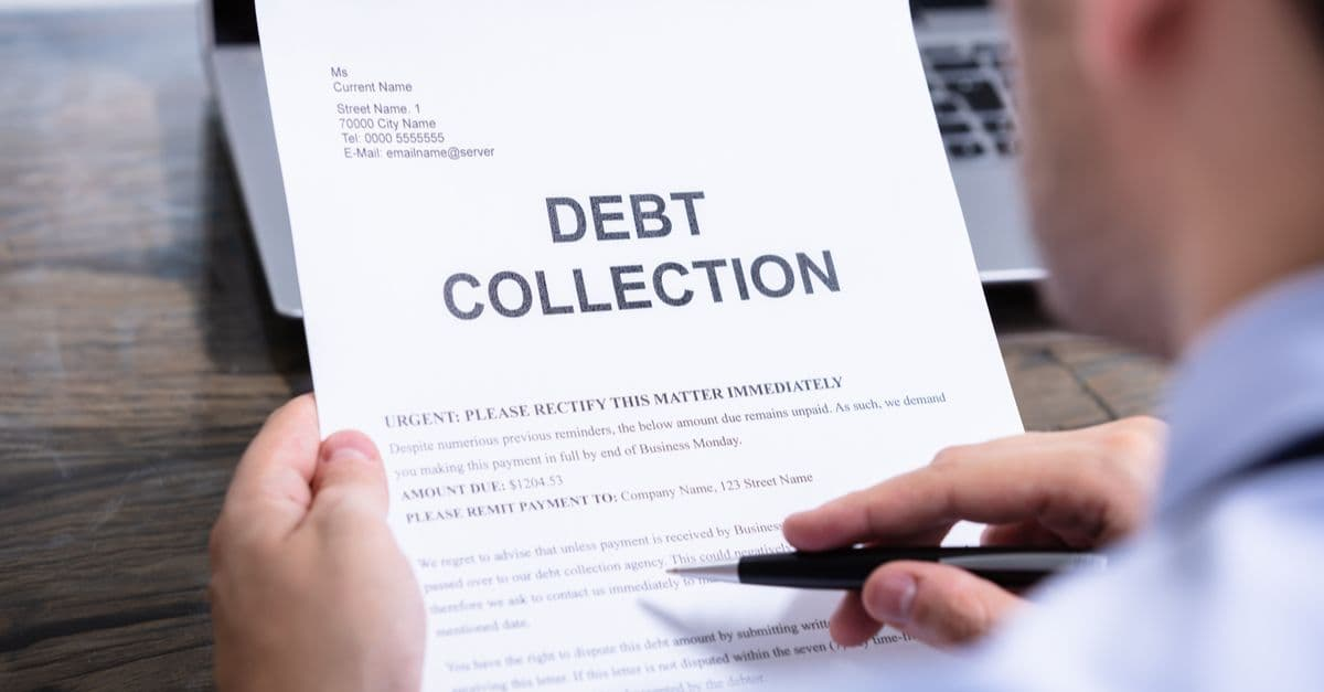 Debt collection document