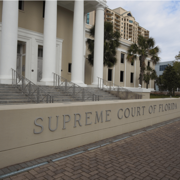Exterior of the Supreme Court of Florida