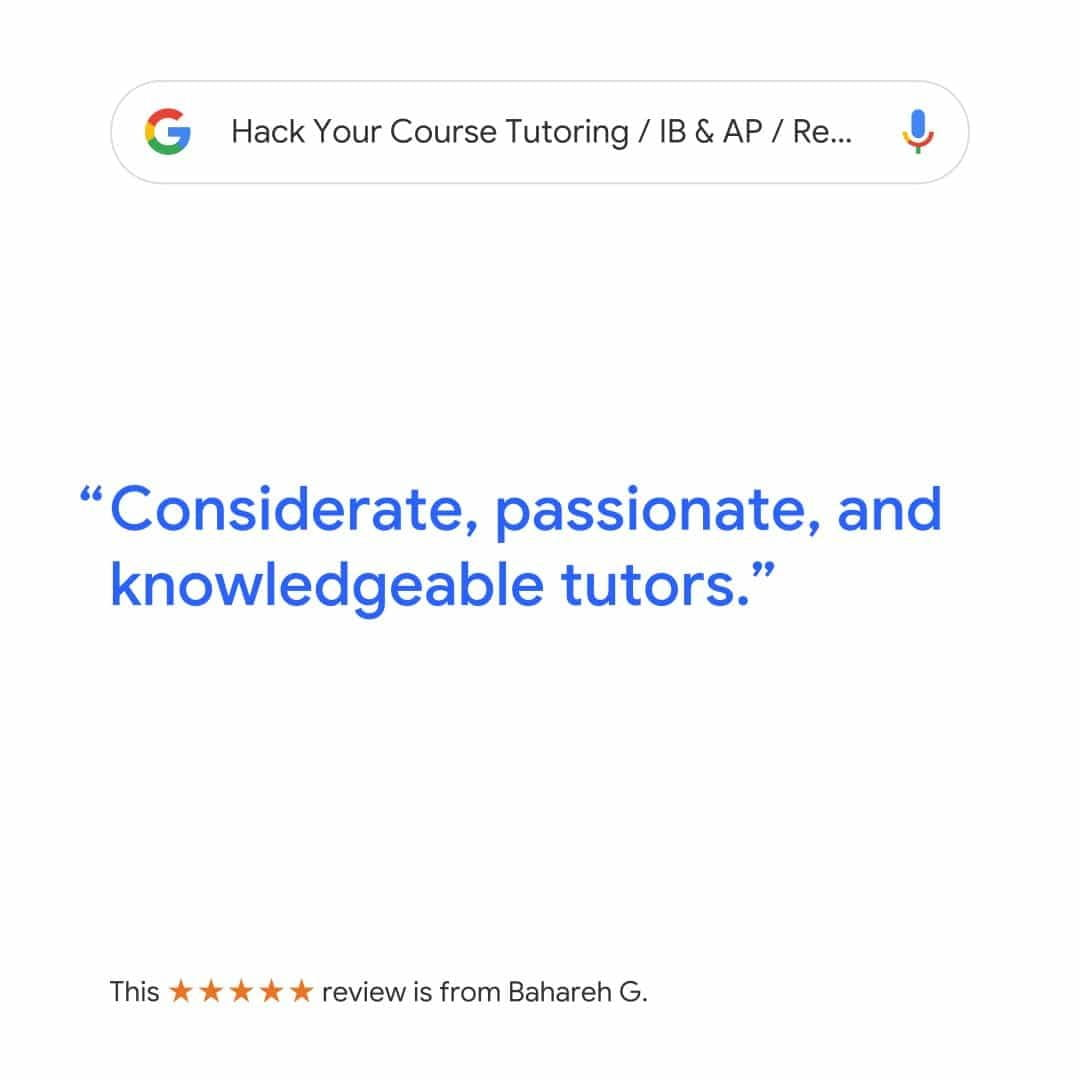 REVIEW FOR HACK YOUR COURSE TUTORING SERVICE ONLINE AND IN-HOME MATH & ENGLISH TUTORING