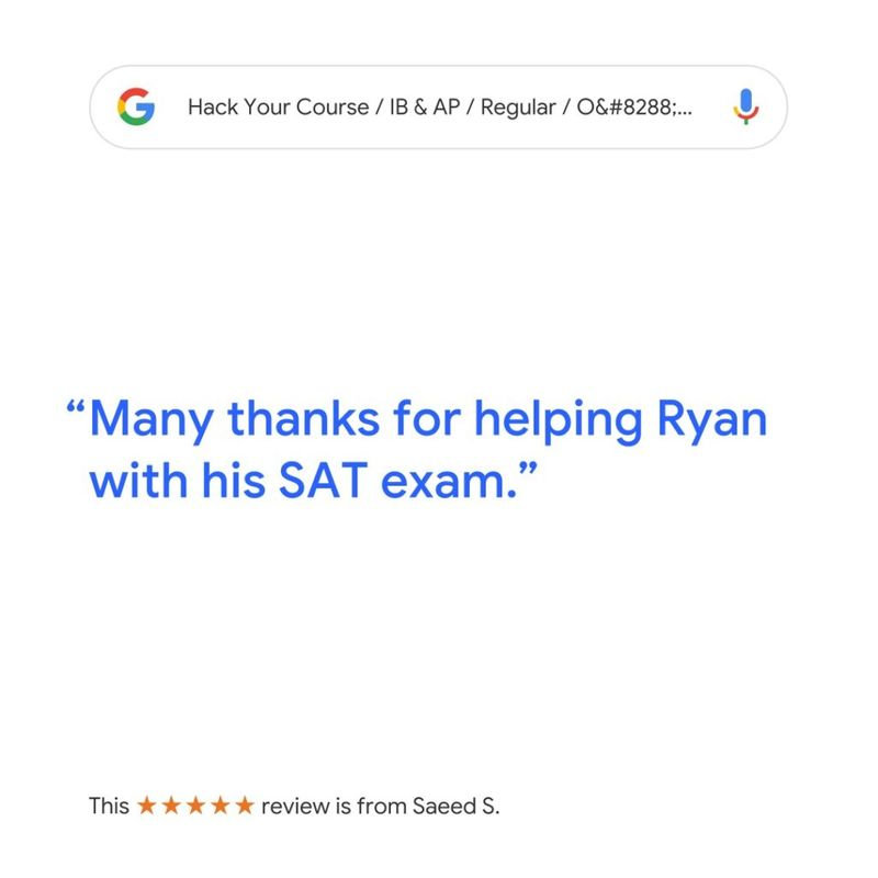review for sat ssat and act tutoring in vancouver with hack your course