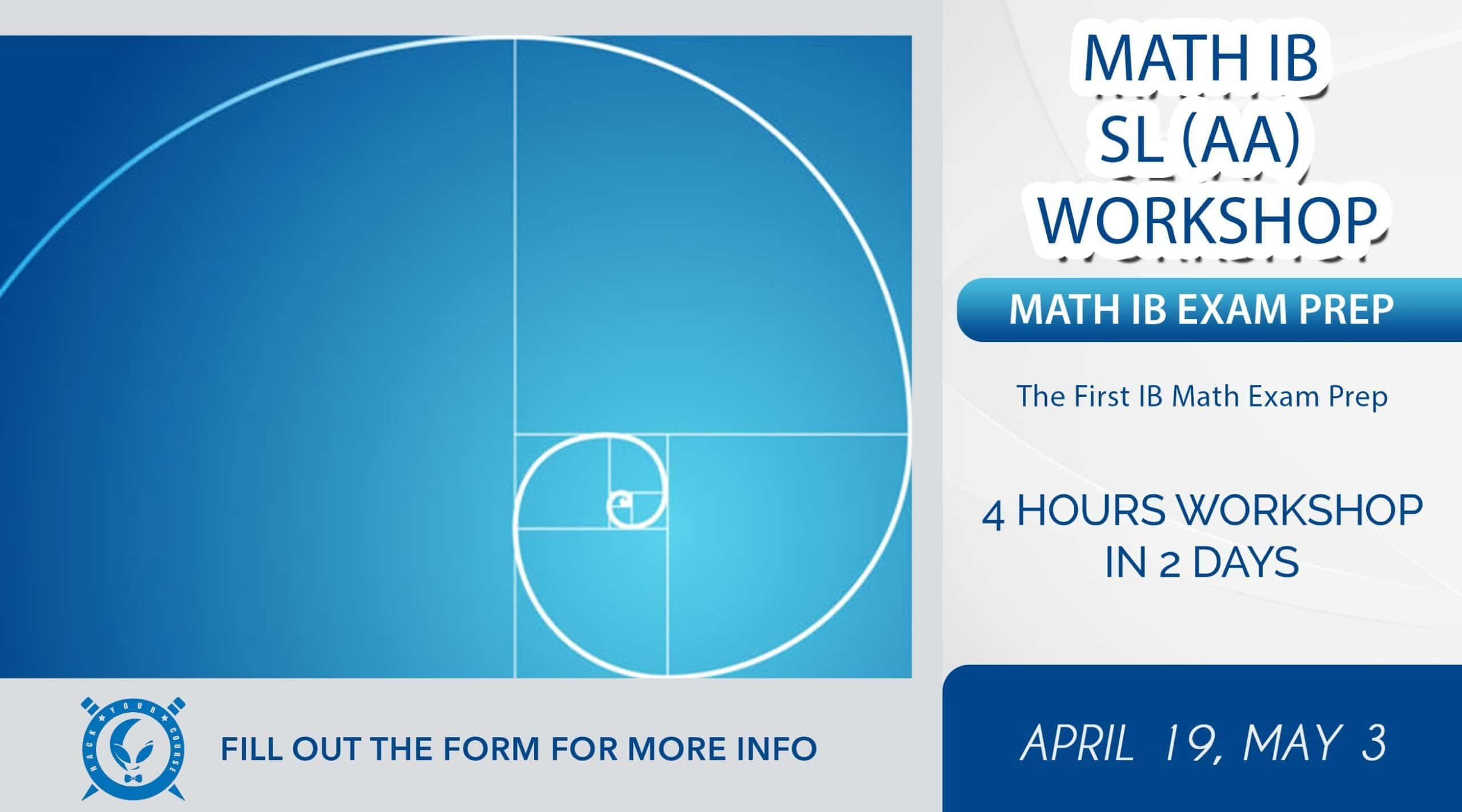 IB MATH EXAM PREP WITH HACK YOUR COURSE IB TUTORING SERVICE IN GREATER VANCOUVER AND TORONTO